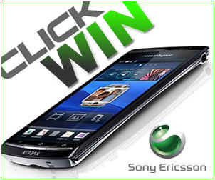 Win a Sony Ericsson Arc