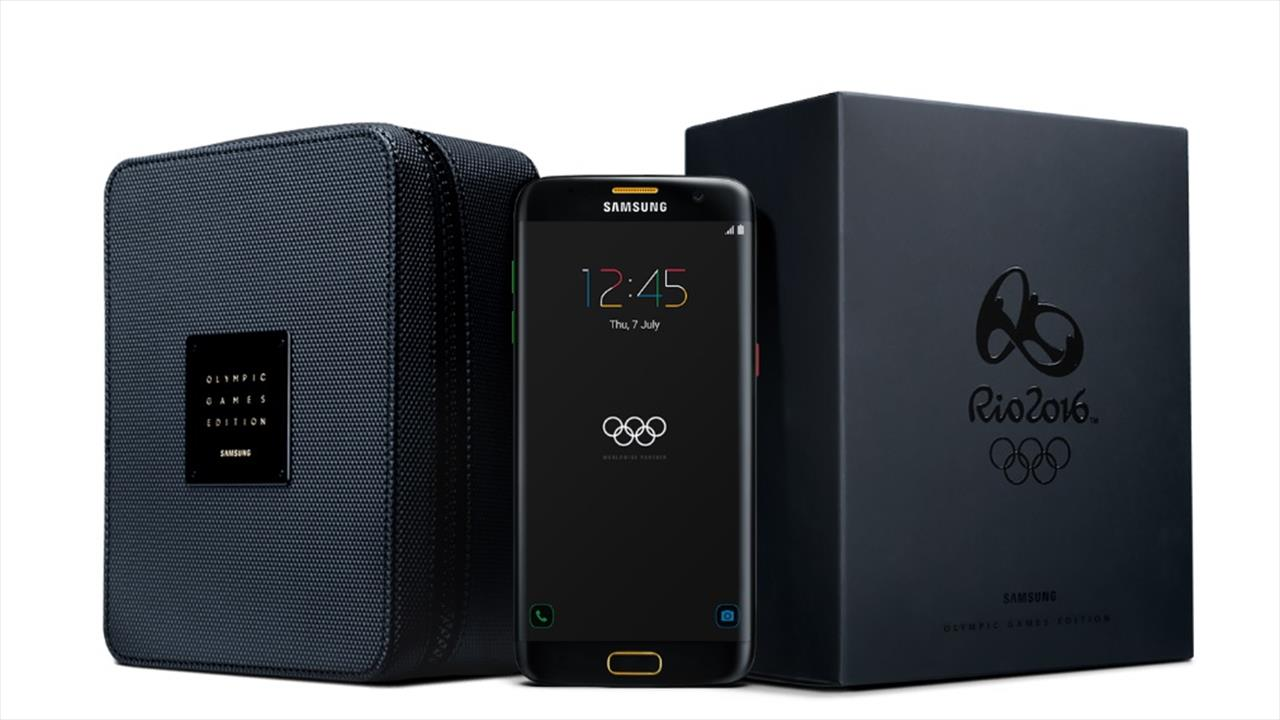 Samsung Galaxy S7 edge Olympic Games Edition Available for Purchase
