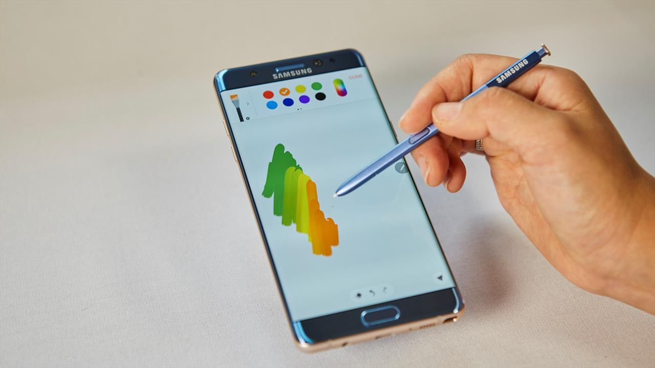 Samsung officially announces Galaxy Note 7