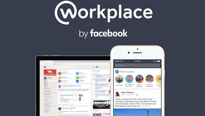 Facebook for work launches- now called Workplace