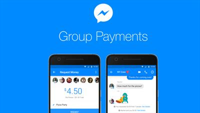 Facebook Messenger adds Group Payments