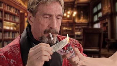 John McAfee reveals Android smartphone