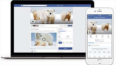 Facebook expands fundraising tools