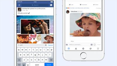 Facebook adds GIFs to comments