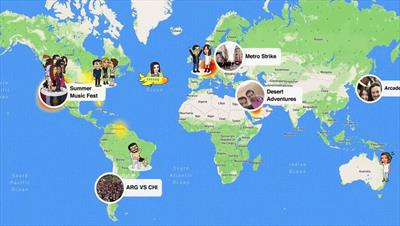 Snapchat adds location sharing feature