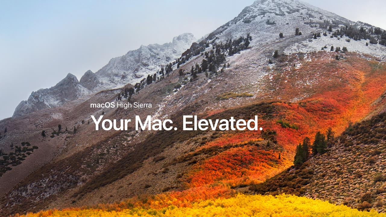 The macOS High Sierra public beta is now available