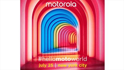 Moto launch event coming July 25