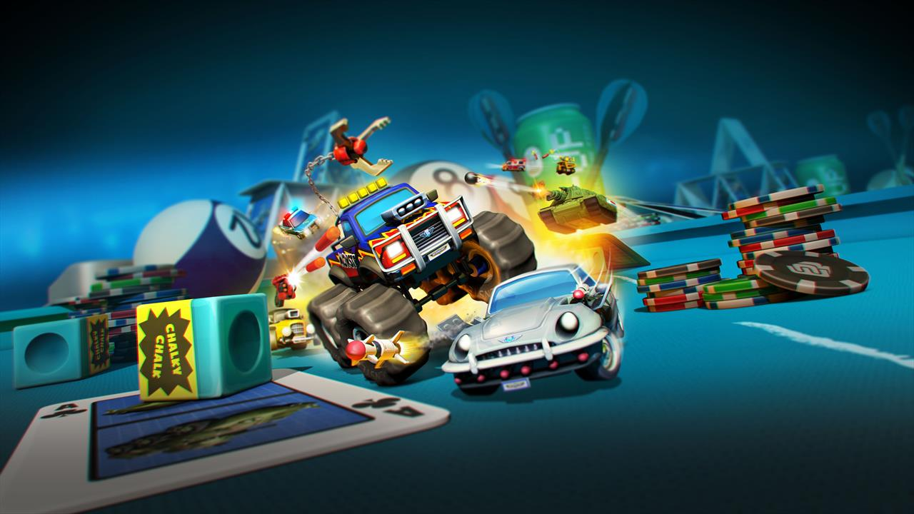 Micro Machines World Series flaunts messy desks and Hungry Hungry Hippos