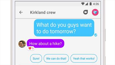 Google Allo v14 adds message reactions