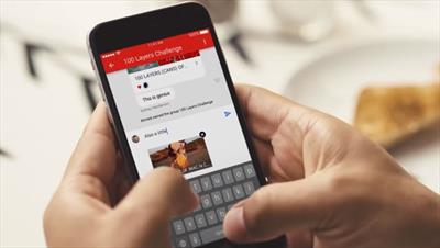 YouTube in-app messaging now available