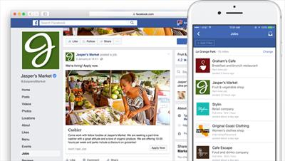 Facebook adds job listings feature