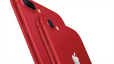 Apple unveils (RED) iPhone 7 devices