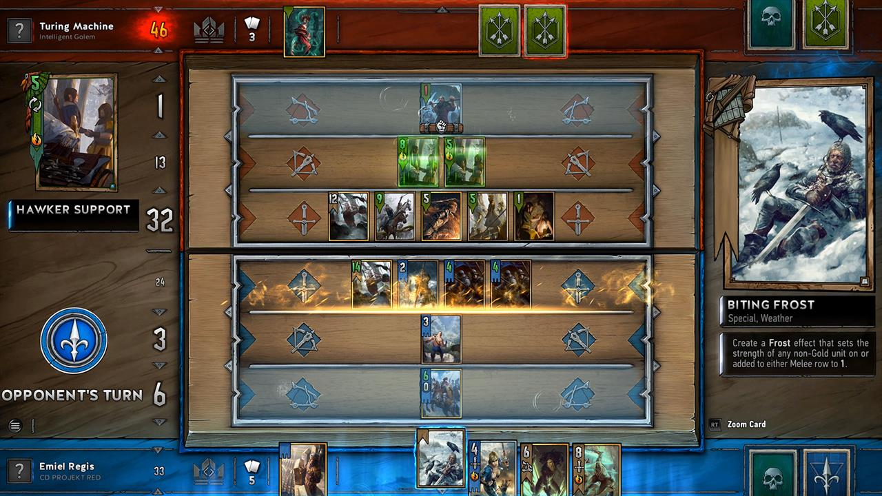 You can play Gwent: The Witcher Card Game on PS4 this weekend